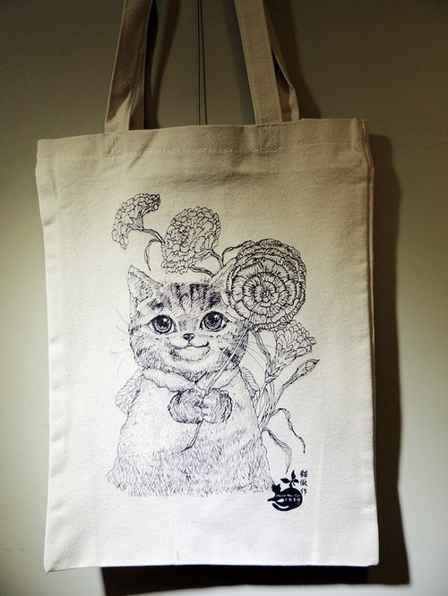 David painted cat bag limit _ _ gratitude