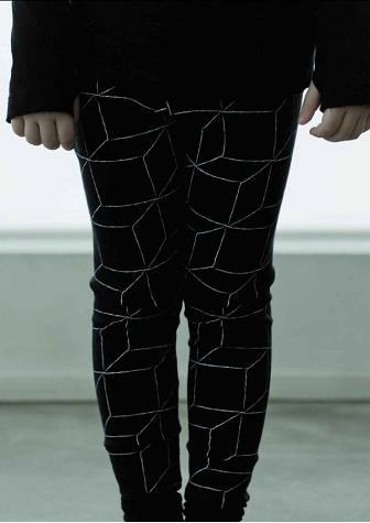 美國nununu 2014 秋冬柔軟立體積木leggings