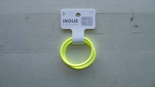 Japan INOUE tress patent certification / fluorescent yellow