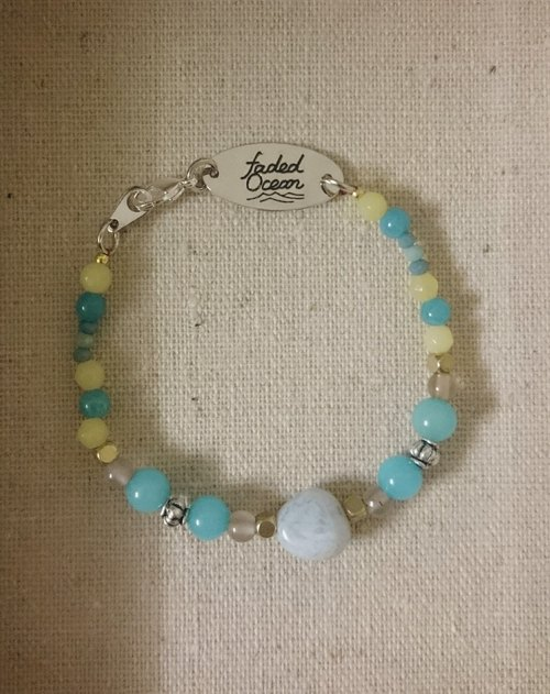Wishing Bracelet - Juliet Julie / Natural stone make a wish Bracelet