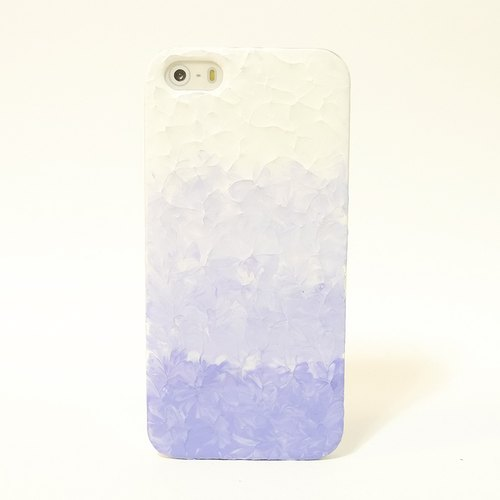 Gradient Series ll ll lavender-painted oil painting style Phone Case