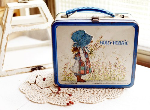 Good day [fetish] antique Holly Hobbie lunchbox Netherlands