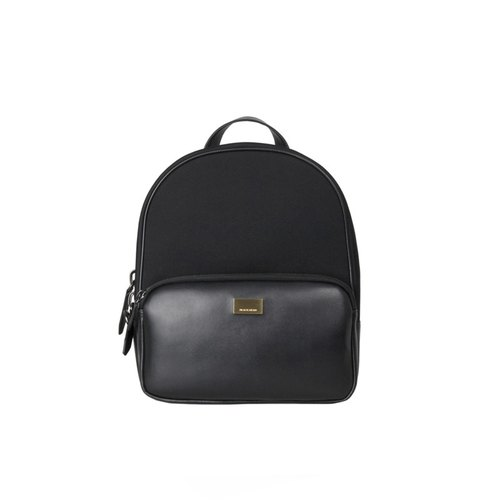 Classic black gold plates Backpack