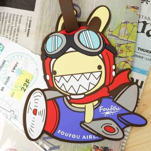 《Foufou》Ticket Holder/baggage tags