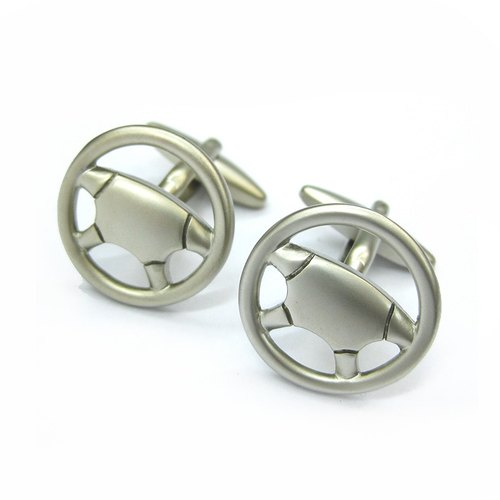 [LORRAINE'S CUFFLINK] Steering wheel cufflinks Streeing wheel Cufflink