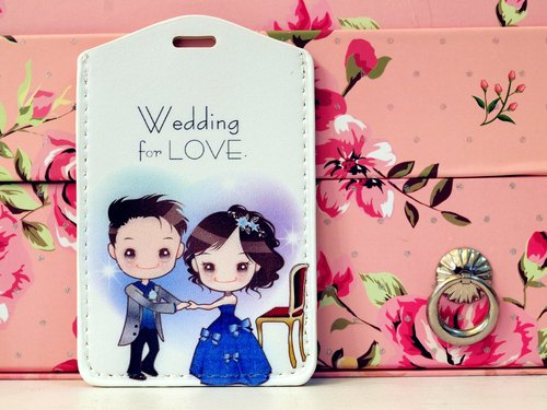 """Wedding for LOVE. Wedding small thing"" sapphire dance. Easy Card sets / Documents folder Package"