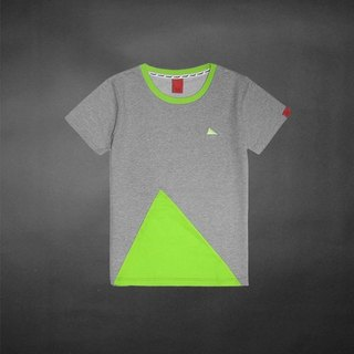 TIN colorful mosaic Tee - Green