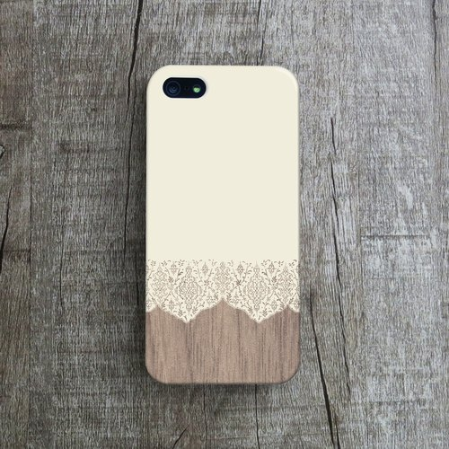 OneLittleForest - Original Mobile Case - iPhone 4, iPhone 5, iPhone 5c- lace stitching
