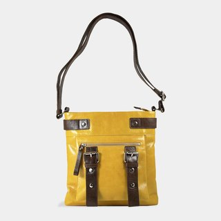 Influxx UN1 Leather Pouch / iPad Bag – Spectra Yellow