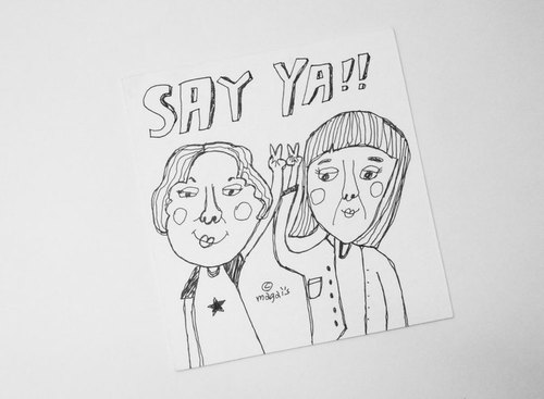 SAY YA! /Magai's card