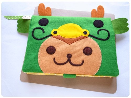 boboSARU wave cloudy monkey manual slipcase cloth book clothes