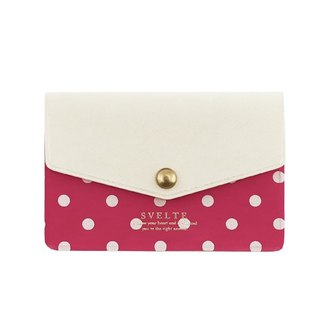 [Japanese] Svelte LABCLIP Series Card case card storage folder / pink