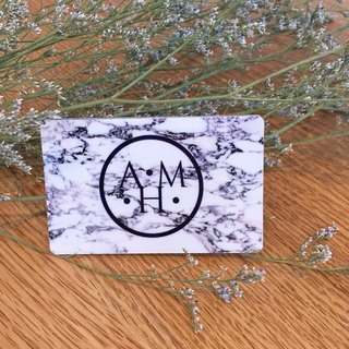 Marble money card stickers