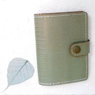 【MY。手作】handmade leather passport cover / passport holder with card slots / leather travel organizer / notebook cover