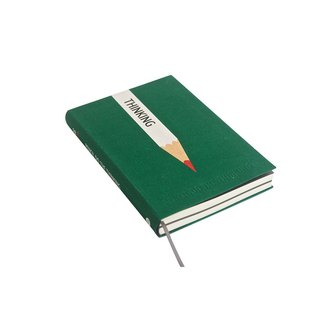 九口山224P pencil series horizontal line notebook-05 ( Green PENCIL DO THE THINKING )