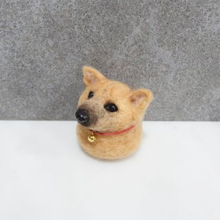 10cm pet cloned [feiwa Fei handmade baby doll pet Yorkshire] (welcome to build your dog)