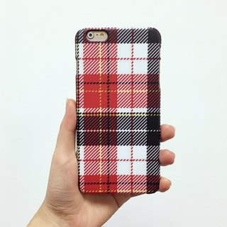 Seamless Checkered pattern red tartan 90 3D Full Wrap Phone Case, available for  iPhone 7, iPhone 7 Plus, iPhone 6s, iPhone 6s Plus, iPhone 5/5s, iPhone 5c, iPhone 4/4s, Samsung Galaxy S7, S7 Edge, S6 Edge Plus, S6, S6 Edge, S5 S4 S3  Samsung Galaxy Note 5