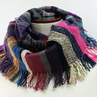 Large colored scarves