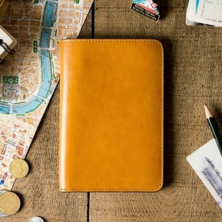 Alto Passport Holder Passport Holder - Caramel Brown (Can be purchased with Lei carving)