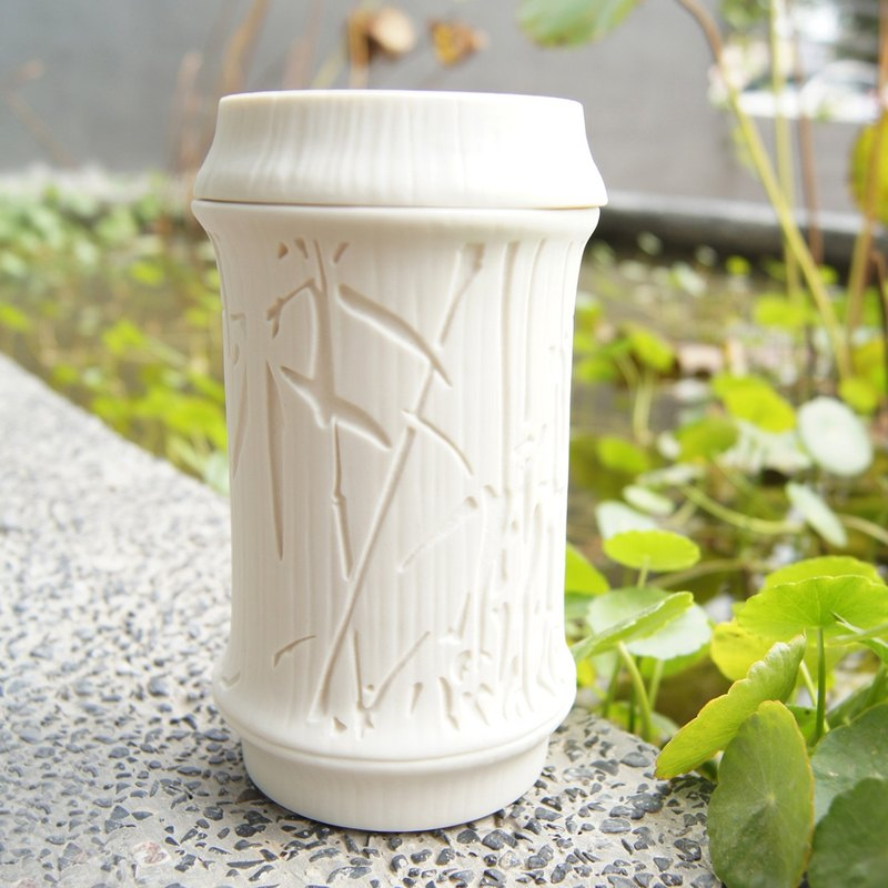Good co-Yuan Zhu Yun bamboo covered cup spring series