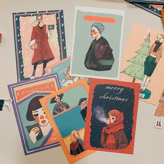 Postcard Buy Four  Get One Free ! (5 designs)