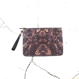 HARD RAYS Black Clutch (can fit iPad)