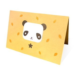Handmade card _ cute panda... universal card, birthday card