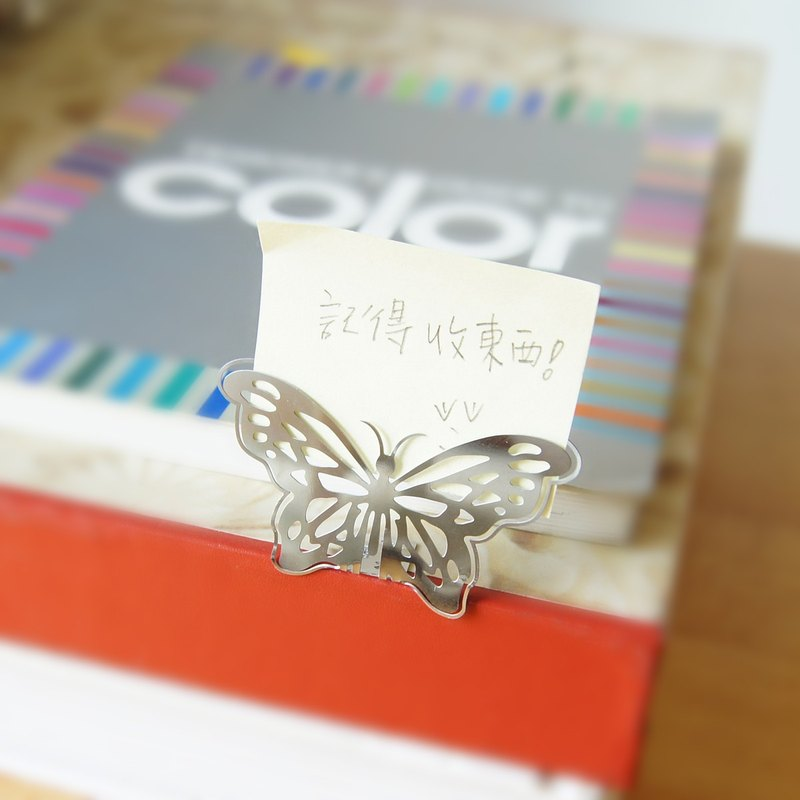Good co Court fortune one hundred silver butterfly clip will Qian