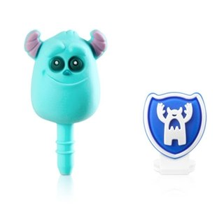 Mao blame headphone plug & amp; Micro USB dust plug group [Monsters University]