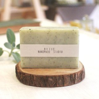 Southland green / deep sea mud soap