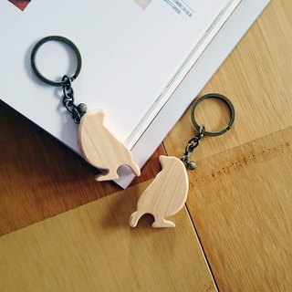 Bird key ring back