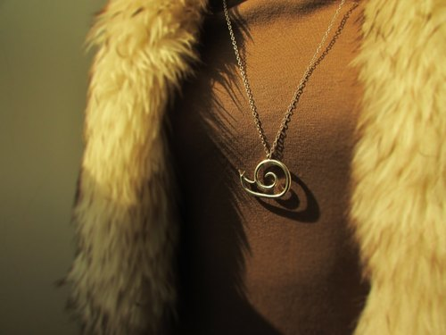 mittag [NL408] slow living G big slow living designer handmade silver necklaces - with brand wood jewelry box ... super take free transport