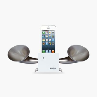 ZIMMA Desk Speaker Stand !  ( For iPhone SE / 5s / 5 / 5c / 4s / 4 / iPod Touch