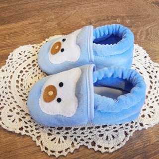 plush baby shoes - cute raging