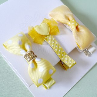 Yellow small hairpin sets