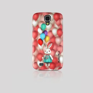 (Rabbit Mint) Mint Rabbit Phone Case - Bu Mali balloons Series Merry Boo - Samsung S4 (M0009)