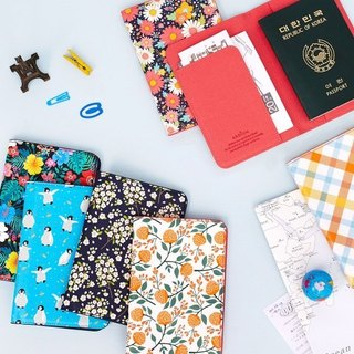 ARDIUM flower Yang passport holder