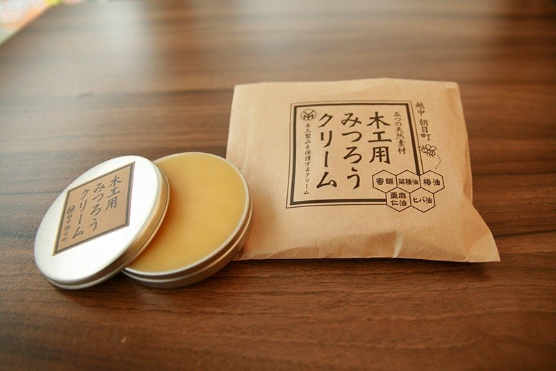 Micro forest Japan Original Import Natural Beeswax Wood Products Woodworking 40g Wood Maintenance Wood Maintenance