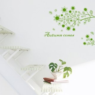 Smart Design Creative Wall Sticker - Autumn Story 8 Colors Available