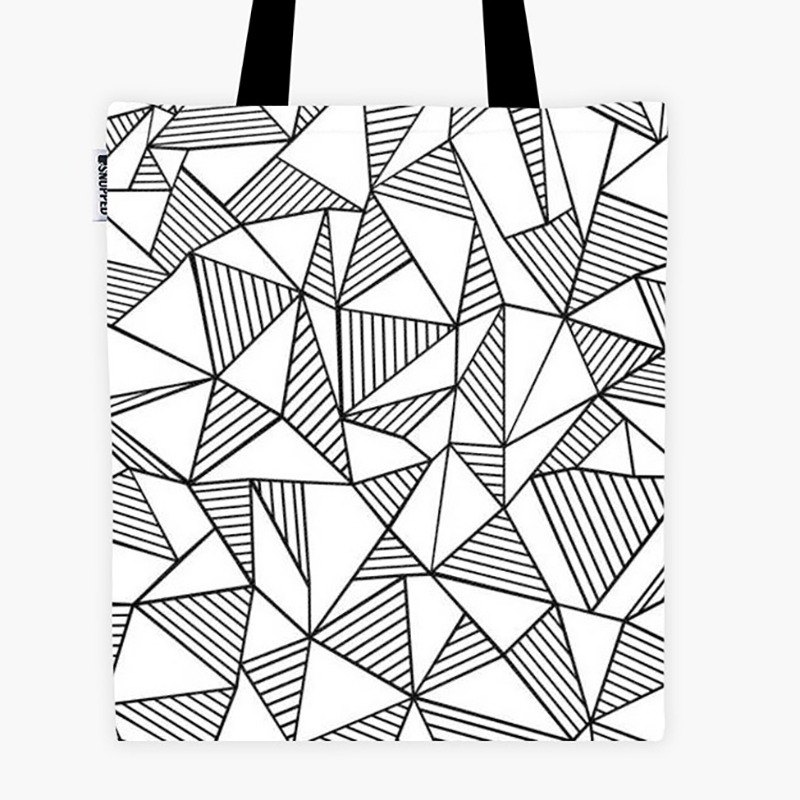 Filament - Canvas Bag - Abstraction Lines