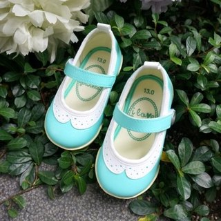 Tiffany Mint Green Collar Doll Shoes (zero code specials only accept returns)