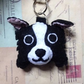 Chirp microphone keychain - Border Collie (light pressure may sound)