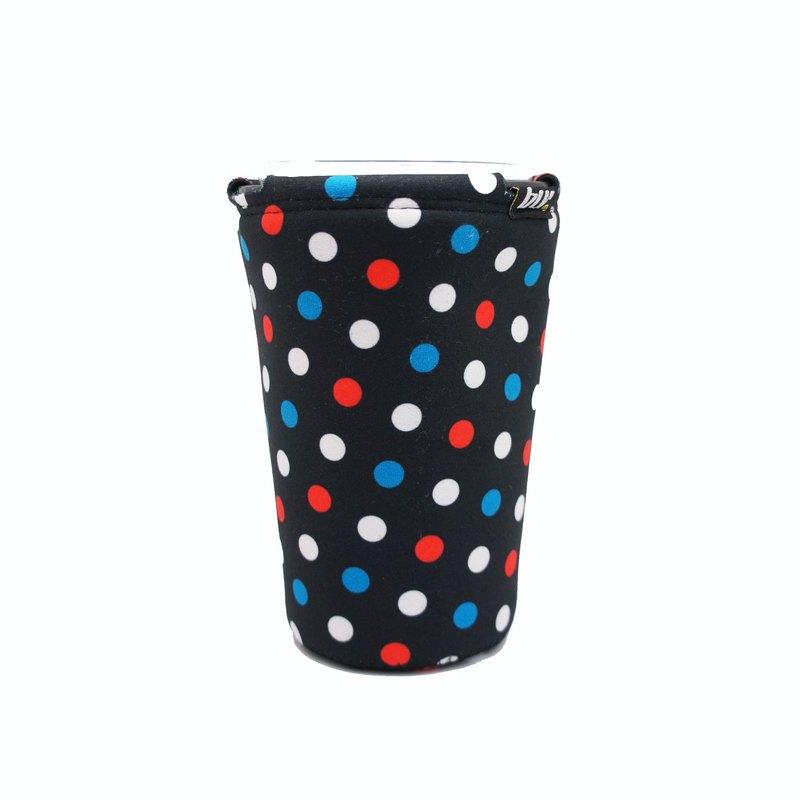 BLR 萬用 置物飲料架 多用途 杯架 WD77 黑底 水玉點點