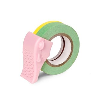 [Dot Design] fish in Carp (Tape Dispenser) - Pink