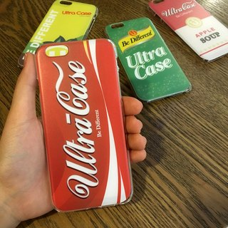 Drink Red Coke Print Soft / Hard Case for iPhone & Samsung Galaxy