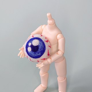 <Wool felt> Eye-ball(M Size) - by WhizzzPace