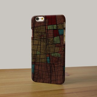 Abstract Art pattern checkered dark brown 97 3D Full Wrap Phone Case, available for  iPhone 7, iPhone 7 Plus, iPhone 6s, iPhone 6s Plus, iPhone 5/5s, iPhone 5c, iPhone 4/4s, Samsung Galaxy S7, S7 Edge, S6 Edge Plus, S6, S6 Edge, S5 S4 S3  Samsung Galaxy No