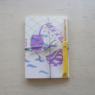 [ZhiZhiRen] Yuan | car suture Notebook - Cijin complement fish - angelfish