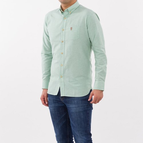 Men shirt: Slim-Button down collar