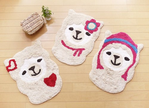 ✱ (pre-order) animal head shell series --- lovely changing alpaca mat ✱